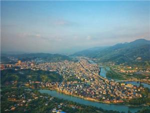 2018首度公开!大美新宁高清全景航拍图!在空中寻找自己的家!