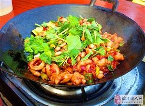 虾酸牛肉肥肠:风味独特,开胃爽口!