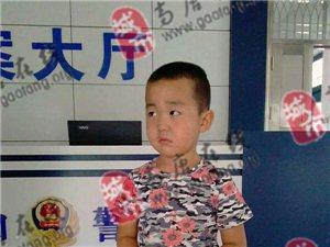 【谁家的孩子】高唐:谁认识姜庄的这个小孩?和母亲走失了,请扩散