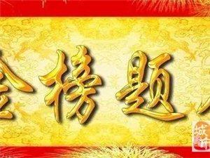 嘉峪关市第二中学2017年高考录取榜
