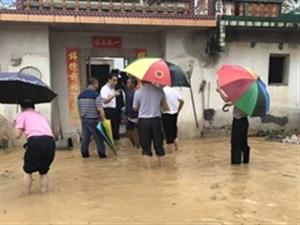 暴雨来袭,澳门巴黎人投注娱乐干群齐心合力抗洪救灾,场面感人!