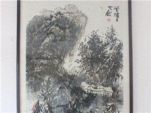 关山云农家乐邀请陕甘书画家挥毫泼墨
