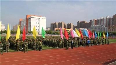 快来看!清水县第六中学2018级新生军训纪实
