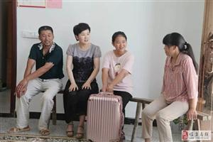 市政务服务中心赴艾亭镇谢李村入户走访
