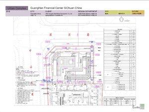 位于广汉市中山大道和深圳路交汇处广汉金融中心项目方案设计批前公示