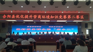 合阳县住建局组织举行优化提升营商环境知识竞赛