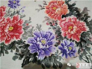 【巴彦网】美术:牡丹花-李晓茹