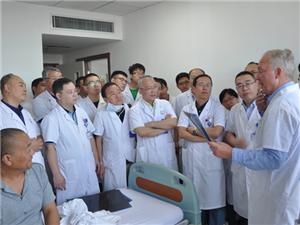 瑞士骨科专家来山医大二院进行学术交流
