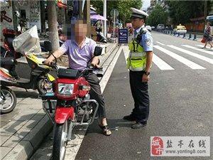交警大队直属中队持续开展摩托车违法行为专项整治行动