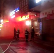 突发!北关口一副食店发生火灾