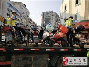交警大队直属中队持续加大摩托车、电瓶车道路交通违法行为整治力度