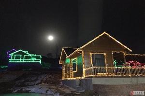 在金沙平台网址发现一个2018中秋最佳赏月地!花庄假日营地