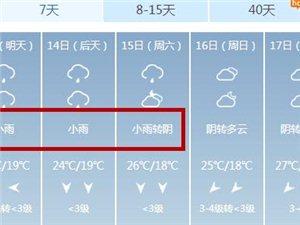 最低13℃!冷空气+大雨组团杀到,漯河未来十几个下雨天!