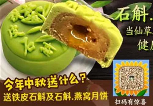 你没吃过铁皮石斛月饼,不会知道这些事...