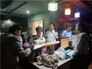 合阳网安大队联合县域其它部门对网吧进行检查