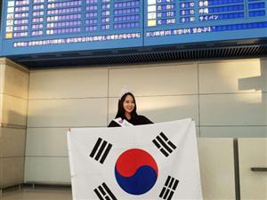 世界旅游小姐韩国冠军美翻了 赴澳门美高梅国际娱乐场参加全球总决赛