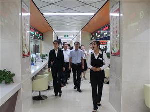 富平县行政服务中心来合阳县政务服务中心考察学习