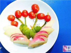 希望幼儿园小小艺术家们的水果拼盘闪亮登场啦