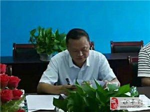 县领导到恩江中学督导校建工作