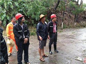 化州市地方公路局全力以赴抗击台风暴雨保公路畅通