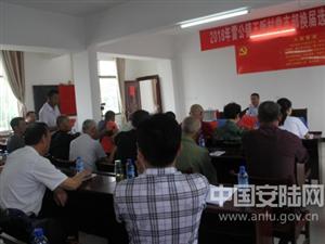 雷公镇王畈村党支部委员会换届选举工作圆满完成
