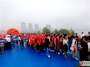 丹江口沧浪洲生态湿地步行桥正式通行