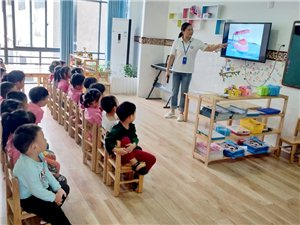 """""""我是护牙小卫士""""――北大附属潢川实验幼儿园开展爱牙日活动"""