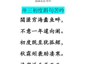 【栟茶沈小洪诗】33岁生日自己给自己作诗