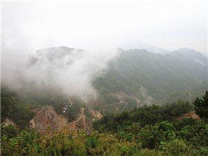 雾雨游登神仙洞――旬阳卢从军原创【太极城文化研究会】