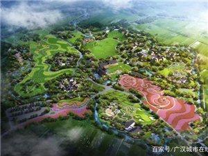 位于向阳镇的陌上花开广汉市乡村振兴一体化建设项目总投资60亿元