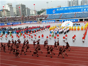长阳职教中心民体代表队在湖北省第九届民运会取得佳绩