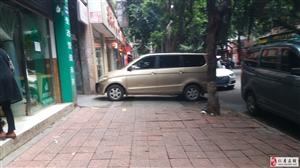 仁和街的人行道是不是可以整治一下?杂乱无章,全是占道的。