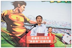 """昭通市2018年""""体彩杯""""足球赛"""