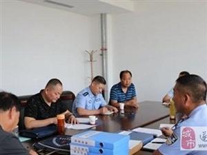 驻马店市中院法警支队检查组到遂平法院考核警务安全工作