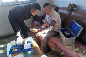 宝绍岱苏木中心卫生院开展第三季度慢病随访工作