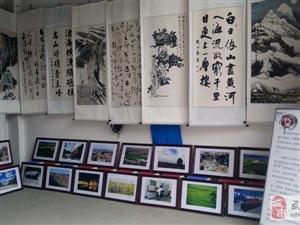 武功县纪念改革开放四十周年书画摄影作品巡回展举行