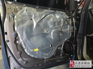 万柏林汽车音响改装 太原朗声奔驰E300改装丹拿专用V17