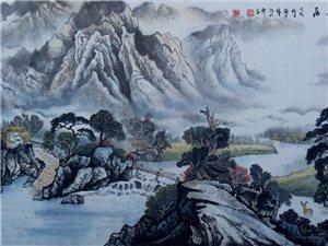 闫宇锋山水画作品