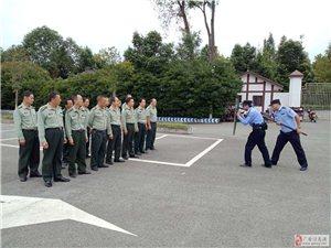 协兴公安开展反恐防暴训练备战国庆安保