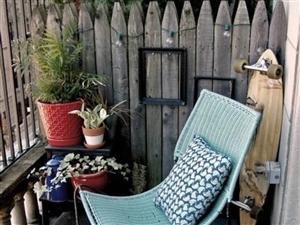 阳台改造成休闲区应注意哪些问题