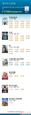 【电影排期】10月1日排期  看电影来恒大