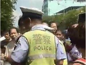 警方:网上说有人光天化日之下头孩子是谣言