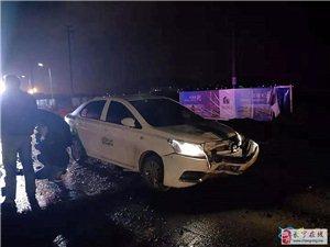 宜宾共享汽车与电三轮迎面猛烈相撞,现场惨不忍睹