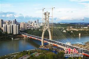好消息!;新涪江大桥正式通车