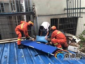 痛心!海口12岁女孩从16楼坠至1楼铁皮棚;抢救无效身亡