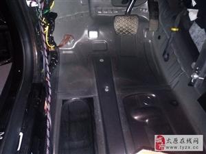 晋源汽车隔音改装 太原朗声奔驰GLA200改装俄罗斯STP