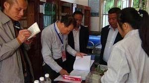 州人民政府督导室对往洞镇进行义务教育均衡发展工作检查