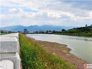 河婆厚埔拦河坝面水位那么低了?