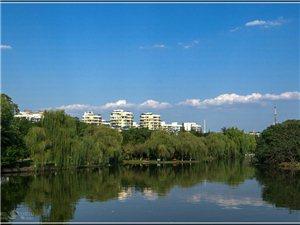 黄均浩摄影作品:广汉鸭子河畔,现代欧式园林格调的金雁湖公园