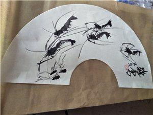 【郭锐民书画作品】在画虾的日子里   龙门白石的作品